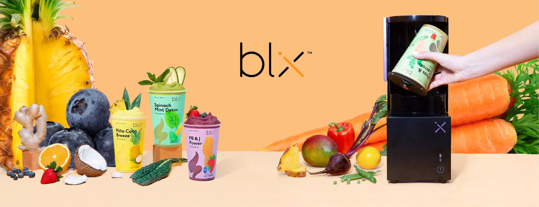 Blix Portfolio Header